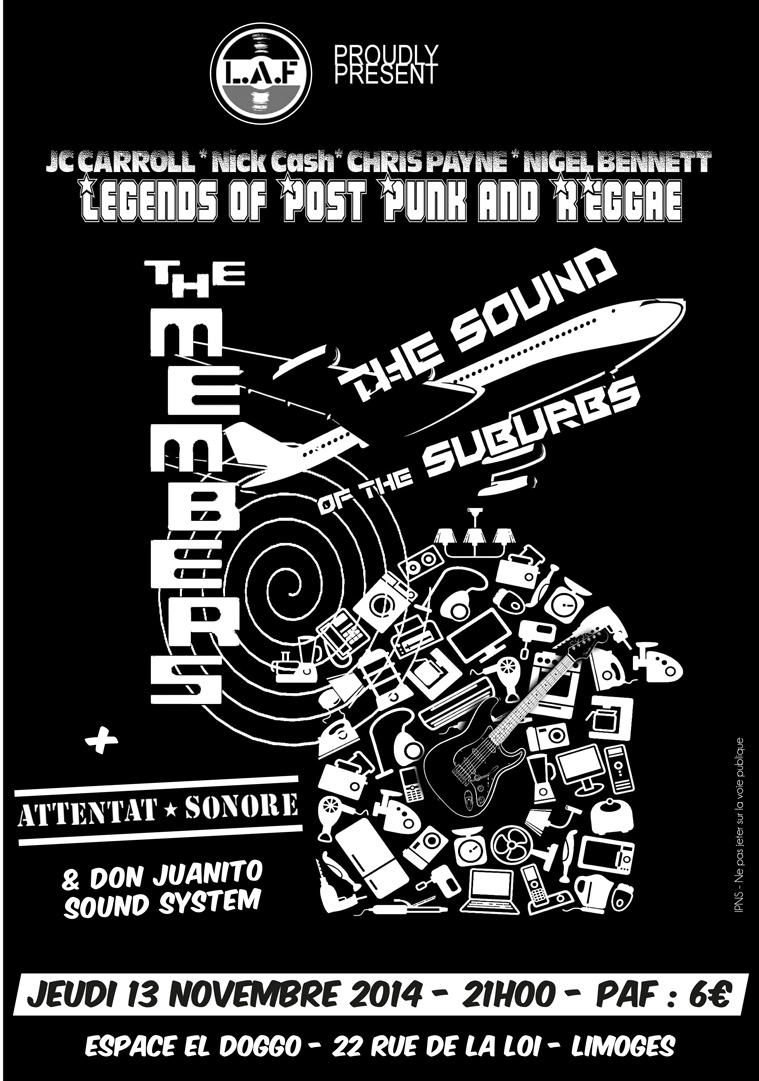 Attentat Sonore + the MEMBERS !